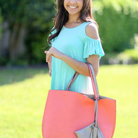 Reversible Tote - Multiple Colors