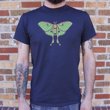 Luna Moth T-Shirt (Mens)