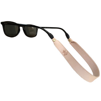 Sounder Goods Leather Sunglass Strap - Natural