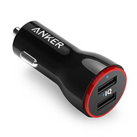Anker 24W Dual USB Car Charger PowerDrive 2 for Apple iPhone 6s / 6s Plus, iPad Air 2, iPad Pro, iPad mini; Samsung Galaxy Note Series, S Series & Edge Models; LG G4 / G5; Google Nexus; and Other iOS and Android Devices