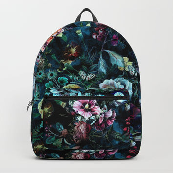 Night Garden Backpack by rizapeker