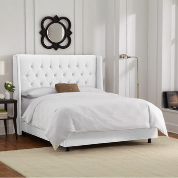 Skyline Furniture Upholstered Panel Bed & Reviews | Wayfair