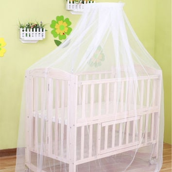 summer mosquito net for baby bed cradle cuturn net toddler kids bed tents princess mosquito mesh for infant portable crib
