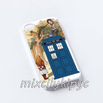 Alice Wonderland and Doctor Who iphone case,samsung case