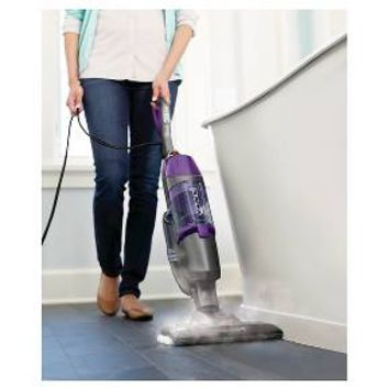 BISSELL® Symphony™ Pet All-in-One Vacuum and Steam Mop- Silver/GrapeVine Purple : Target