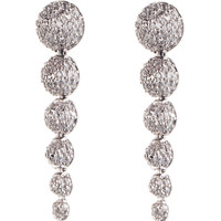 Graduated Pave Cone Drop Earring by Eddie Borgo for Preorder on Moda Operandi