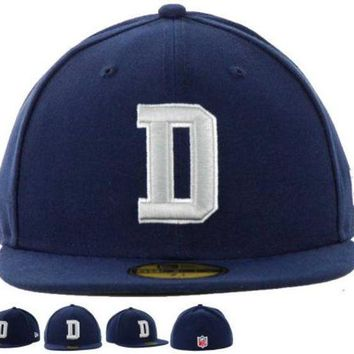 DCCKBE6 Dallas Cowboys New Era 59FIFTY NFL Football Hat D