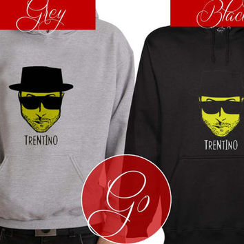Terentino jesse pinkman bitch Hoodie Sweatshirt Sweater Shirt black and white Unisex