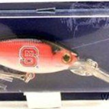 North Carolina State Tar Heels NC Minnow Fishing Lure Hook University of