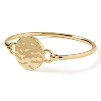 Banana Republic Gold Disc Bangle Size One Size - Gold