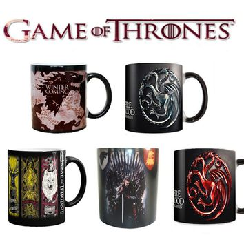 Game of Thrones Right Coffee Mug Color Change Cup