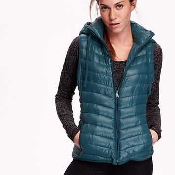 Old Navy Womens Hooded Frost Free Vest