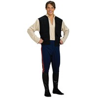 Star Wars Deluxe Han Solo Costume - Adult (White)