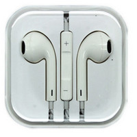 Apple style Earphones w/Mic and Volume Control for iPhone and iPad