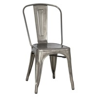 Magnussen Stovall Metal Dining Chairs - Set of 4 | www.hayneedle.com