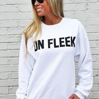 On Fleek Lightweight Sweatshirt: Private Party
