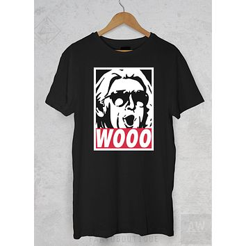 Ric Flair Wooo WWF WWE Wrestlemania Graphic Tee Unisex T Shirt