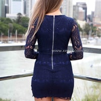 LUCKY CHARM DRESS , DRESSES, TOPS, BOTTOMS, JACKETS & JUMPERS, ACCESSORIES, 50% OFF , PRE ORDER, NEW ARRIVALS, PLAYSUIT, COLOUR, GIFT VOUCHER,,Blue,Print,LACE,BODYCON,LONG SLEEVES,MINI Australia, Queensland, Brisbane