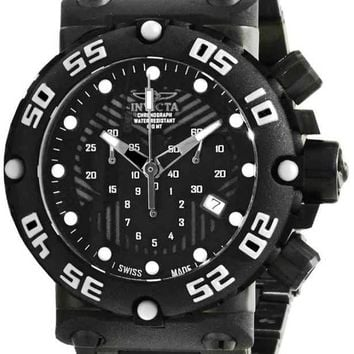Invicta Subaqua Nitro Black Label Interchangeable Watch 10046