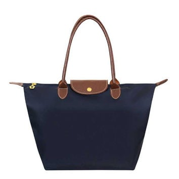 2017 Summer Beach Bags Waterproof Nylon Totes Women Folded Hobos Bags Fashion Handbags for Women Casual Shopping Mummy Handbag