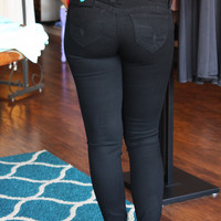 Wanna Betta Butt Black Jeggings