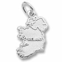 Ireland Charm In Sterling Silver