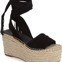 Marc Fischer LTD Rabecca Lace-Up Platform Wedge (Women) | Nordstrom
