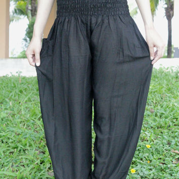 Dark nightwear for women baggy pants bohemin style online boutiques Yoga pants/palazzo pants/women in yoga pants/Harem pants/boho pants