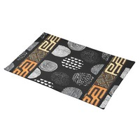 African Tribal Print Cloth Placemat