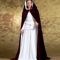 Medieval Maiden Cape and Dress Pattern Butterick 4954