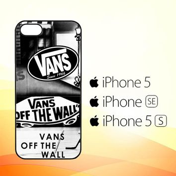 vans W3058  iPhone 5|5S|SE Case