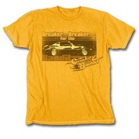 Smokey and the Bandit Breaker for the Bandit Gold T-Shirt Tee