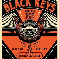Black Keys New York Concert Music Poster Posters at AllPosters.com