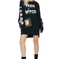Teen Witch Long Sleeve Tee