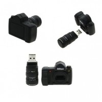 8GB Nikon Camera Bag Shaped USB Flash Memory Drive