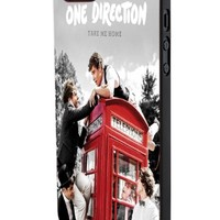 One Direction Red Phone Booth Custom Case for Iphone 5/5s Iphone 6/6 Plus Black and White (iPhone 5/5s Black Plastic)