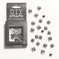 With Love From CA DIY Burnish Pyramid Studs at PacSun.com