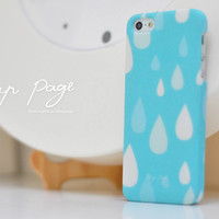 apple iphone case : raindrop