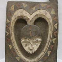 African Art  Tribal Art  Kwele Door  From Gabon