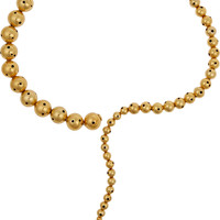 Paula Mendoza - Glaucus gold-plated necklace