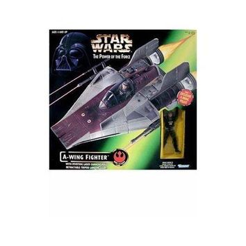 Star Wars: Power Of The Force A Wing Fighter With Pilot Vehicle