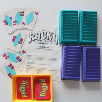 Vintage Parker Brothers Rack-O Game 1992