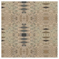 Brown black Earthy pattern Fabric
