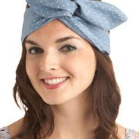 Through the Wire Headband in Blue | Mod Retro Vintage Hair Accessories | ModCloth.com