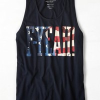 's F-yeah Graphic Tank (Fleet Navy)