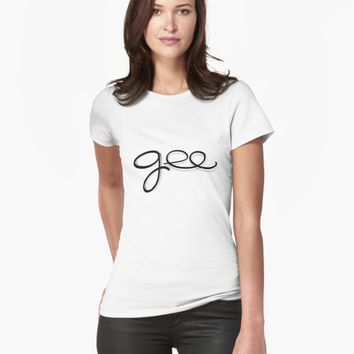 "'""gee"" hand drawn typography' T-Shirt by BillOwenArt"