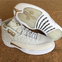 Air Jordan 12 Retro OVO White AJ12 Sneakers - Best Deal Online