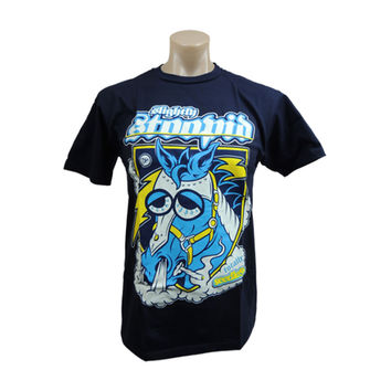 Slightly Stoopid Men's  Seedless Charger Navy T-shirt Navy