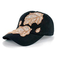 Shiny Leaves Baseball Cap