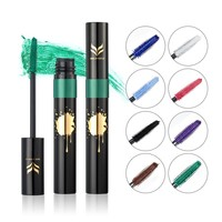 Color Faint Waterproof Anti-Sweat Exaggerate Mascara